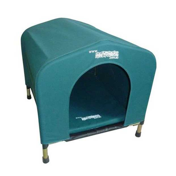Houndhouse Kennel Flea-Free Waterproof Canvas Dog House - Small