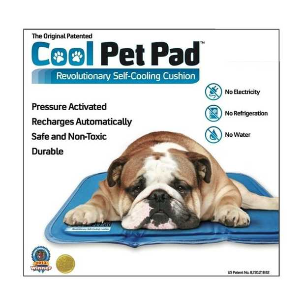 The Green Cooling Pet Mat - No Water or Power Needed [Size: Large]