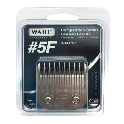 Wahl Bladeset Detachable Blade - #5F 6mm Coarse