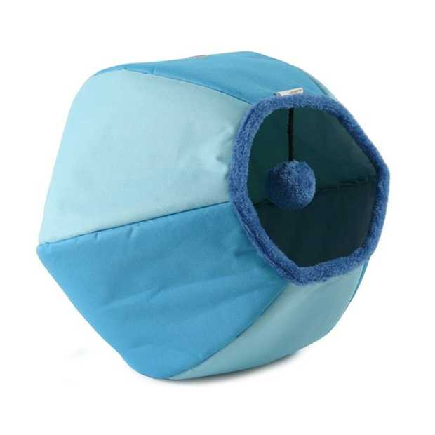 United Pets Cat Cave and Bed - New Design & Colours - Blue