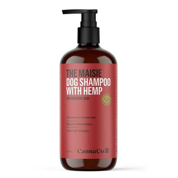 The Maisie Dog Shampoo with 100% Australian Organic Hemp Seed Oil for Sensitive Skin 250ml