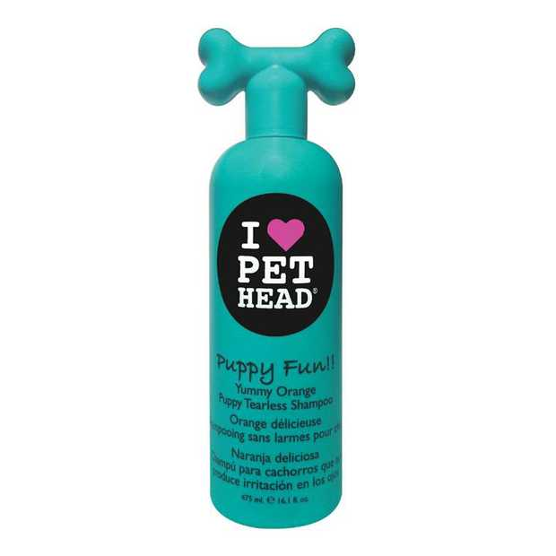 Pet Head Puppy Fun Yummy Orange Tearless Dog Shampoo 475ml