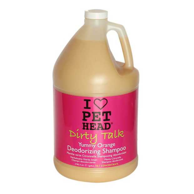 Pet Head Dirty Talk Yummy Orange Deodorising Dog Shampoo 3.79 Litres