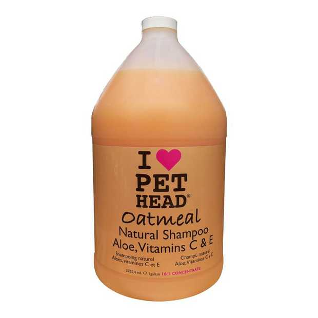 Pet Head Natural Oatmeal with Aloe & Vitamins C&E Dog Shampoo 3.79 Litres