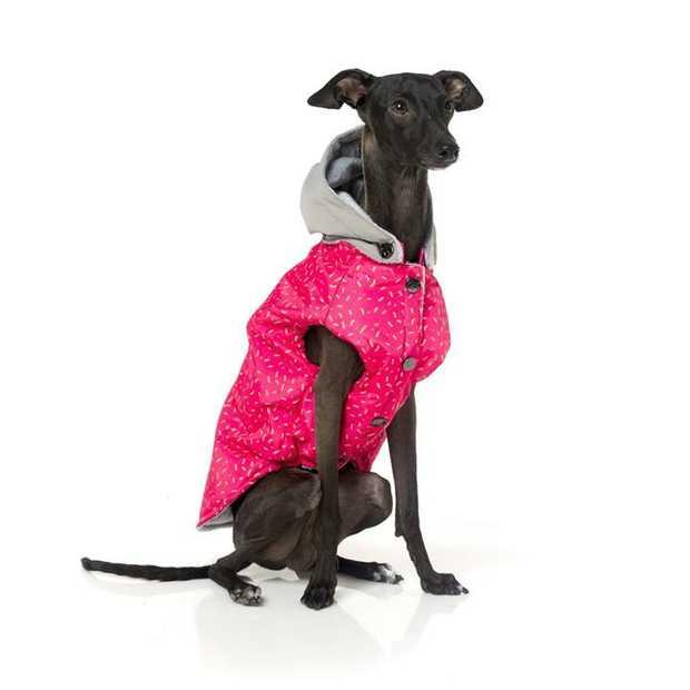 Fuzzyard Weatherproof Hoodie Jacket - Juicy Pink [Size: Size 7]
