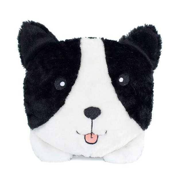Zippy Paws Plush Squeaker Dog Toys - Border Collie