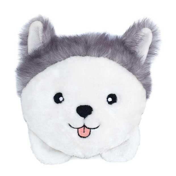 Zippy Paws Plush Squeaker Dog Toys - Husky