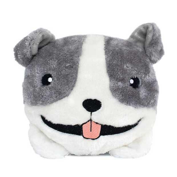 Zippy Paws Plush Squeaker Dog Toys - Pitbull