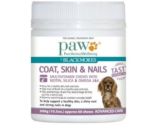 Paw Coat Skin & Nails Dog Multivitamin 300g | Dog Supplies