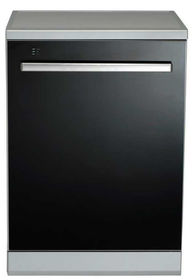 14 place settings 8 Wash Programs Auto 40-65°C Auxiliary Functions Fast 30 Minute Wash Option Slide out...