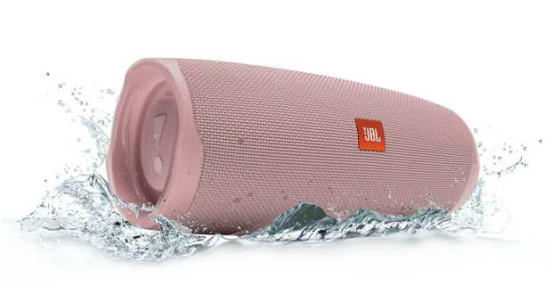 Wireless Bluetooth Streaming 20 Hours of Playtime IPX7 Waterproof JBL Connect+ Durable Fabric and...