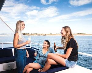 Join Rottnest Fast Ferries for a relaxing cruise along Perths northern beaches. The trip lasts around...