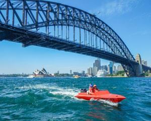 Drive your own boat on an organised tour around Sydney Harbour and get close-up views of all the...
