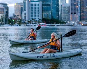 Whether you are a first-timer or an experienced paddler, get out and discover Brisbanes beautiful river...
