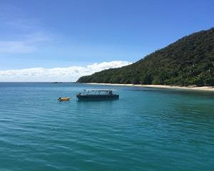 Enjoy an overnight stay on Fitzroy Island on the Great Barrier Reef, see the amazing reef with a glass...