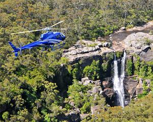 Discover the waterfalls of the South Coast of NSW on this spectacular scenic helicopter ride
