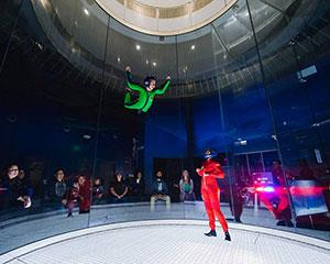Always wanted to fly? This indoor skydiving package will give you 10 guided indoor flights, full gear...