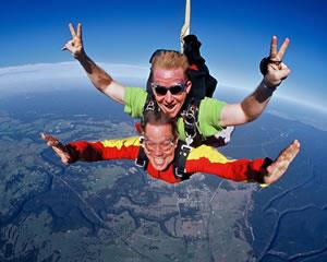 Skydiving is the most thrilling experience many of us will ever have. Tandem Skydiving is the fastest...