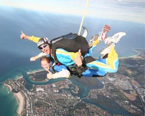 Skydive over the Gold Coast! Tandem Skydiving is the fastest and easiest way to experience the...