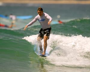 Youve seen the epic surf on Endless Summer and Big Wednesday.  Now its your turnstart small and feel...