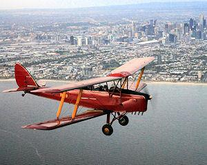 Tiger Moth Scenic Joy Flights - The ultimate way to see Melbourne's beautiful coastline and city. Why...