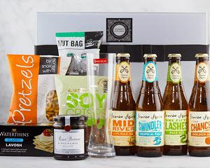 Make that special man a very happy man with this delicious selection of boutique beers and posh...