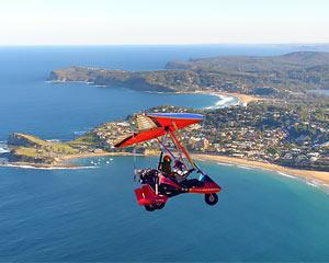 Be amazed by views stretching out in all directions, the rush of the wind and THE THRILL OF FLYING with...