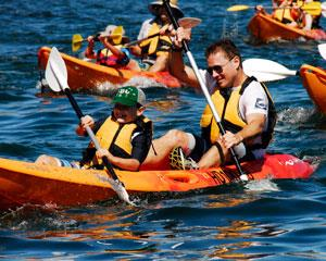 Discover the secrets of Sydney Harbour with this 4 Hour Kayak Tour departing from Manly. Visit secluded...