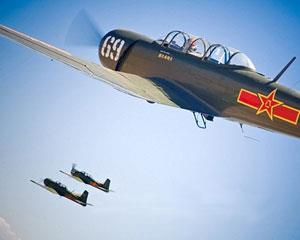 Relive the thrills, drama and Adrenalin of a WWII Dog Fight in this Aerobatic Warbird Combat Fighter...