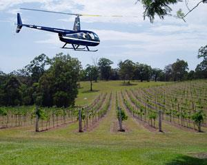 Private Helicopter Flight for Up To Three to Sirromet Winery. Please note we only require the name of...
