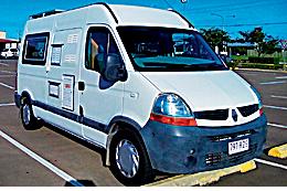 2008 RENAUL / 2012 FITOUT   5.4m Auto, T/diesel 190,000 kms, cruise, P/S, A/C, 80L fridge...