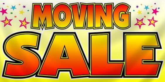 HOUSEHOLD MOVING SALE  