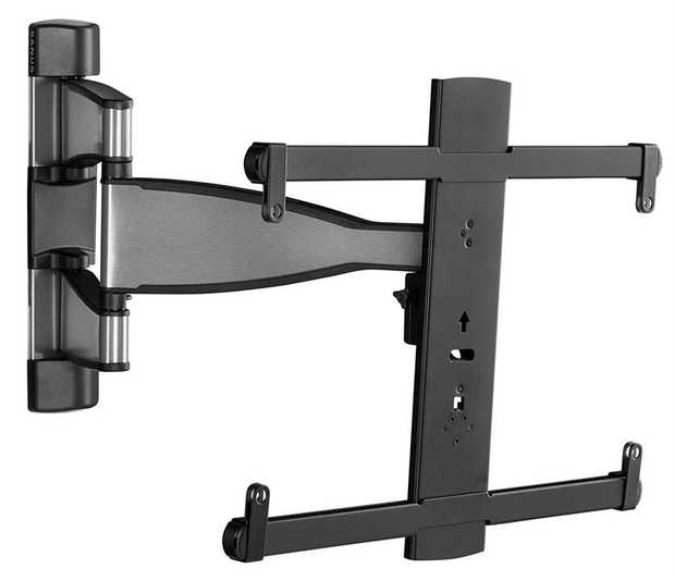 "Fits most TVs from 32"" to 55"" Up to 55 lbs. / 24.95kg capacity Up to 15º of tilt 60º swivel left to..."