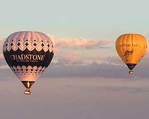 Embark on a spectacular hot air balloon flight over Geelong as the vibrant colours of sunrise fill the...