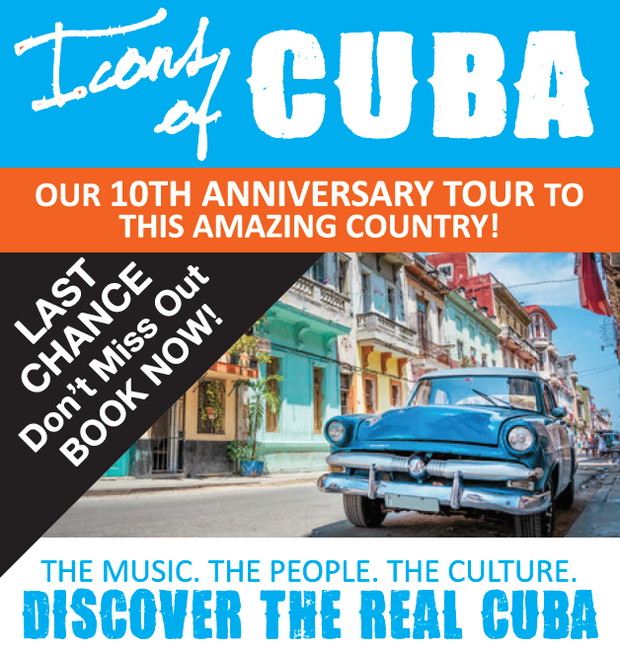 A signature Tour by ZEPPELIN TRAVEL   Icons of CUBA   OUR 10TH ANNIVERSARY TOUR TO THIS AMAZING...