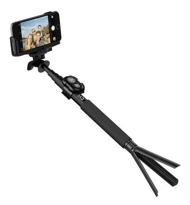Secure universal cradle for your smartphone GoPro mount compatible Detachable Bluetooth® camera control...