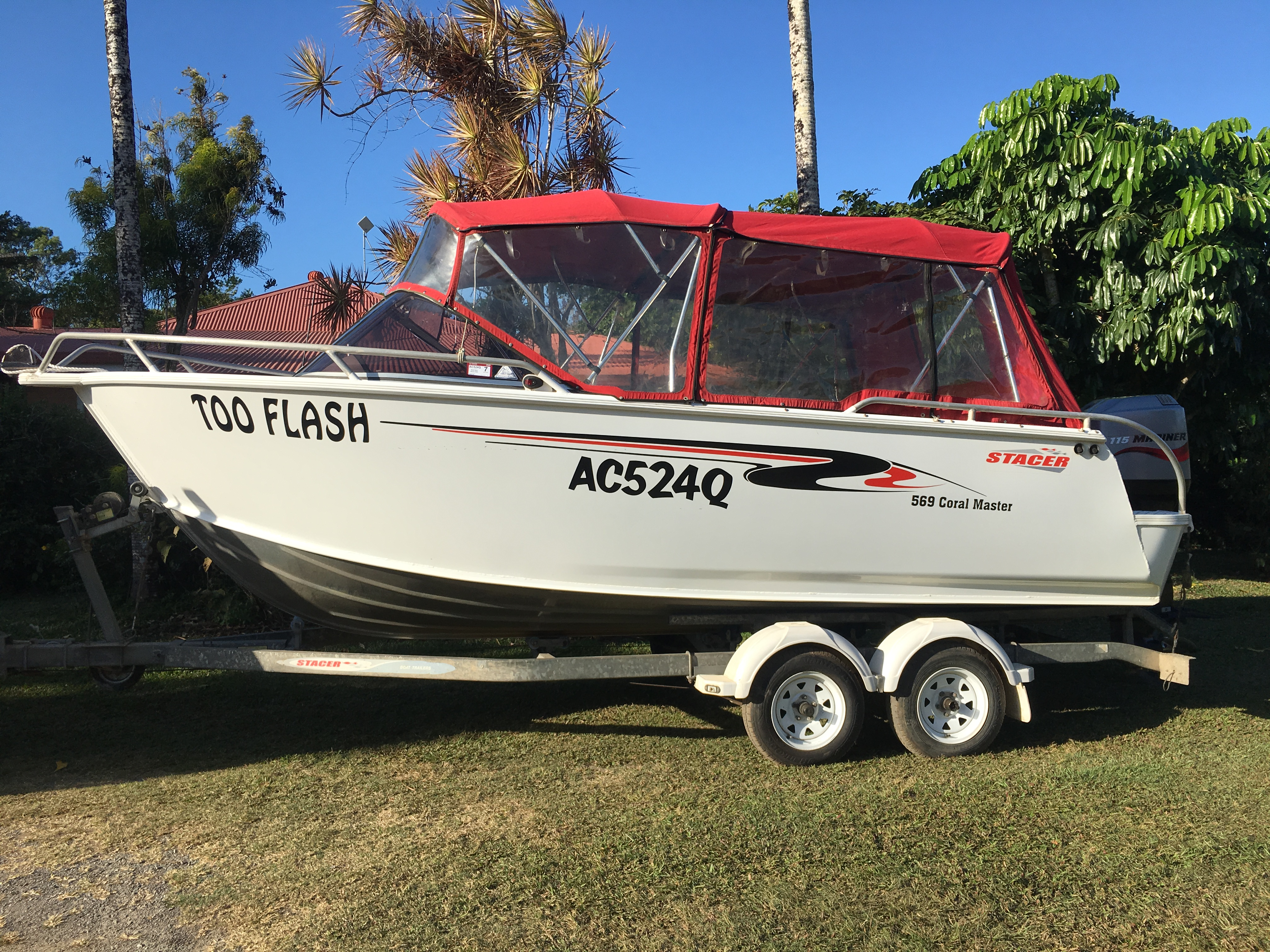 Stacer 5.9m Runabout