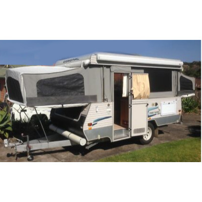 COROMAL 2011 Family Series 400   4x4 off road camper, E/C, sleeps 5, fitted with Fiamma wind out...