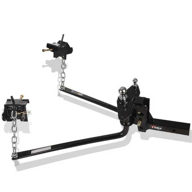 The T-REX™ 365kg Round Bar Weight Distribution System is unequalled when you're looking for a...