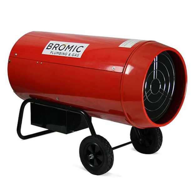 Bromic's HEAT-FLO™ blow heaters efficiently provide portable, instantaneous and economic heat in...