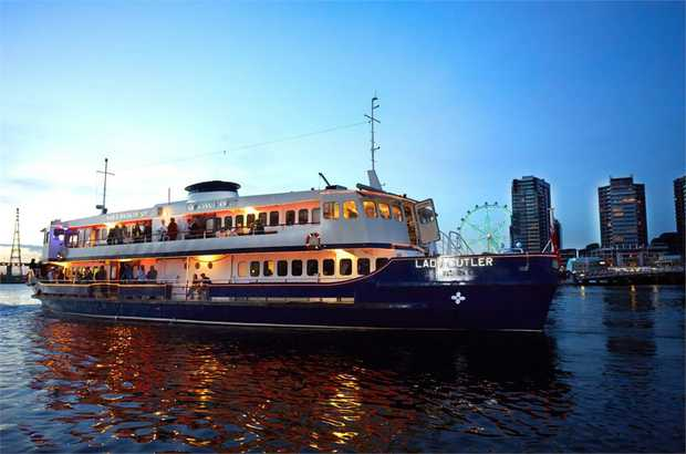 Party along to your favourite hits of the 60s, 70s and 80s as you cruise down the Yarra River. A truly...