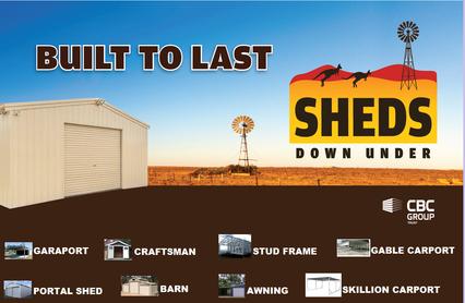SHEDS DOWN UNDER