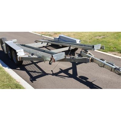TILTA Tilting car trailer good condition, little use, carry 800kg, air bag suspension, $3,600