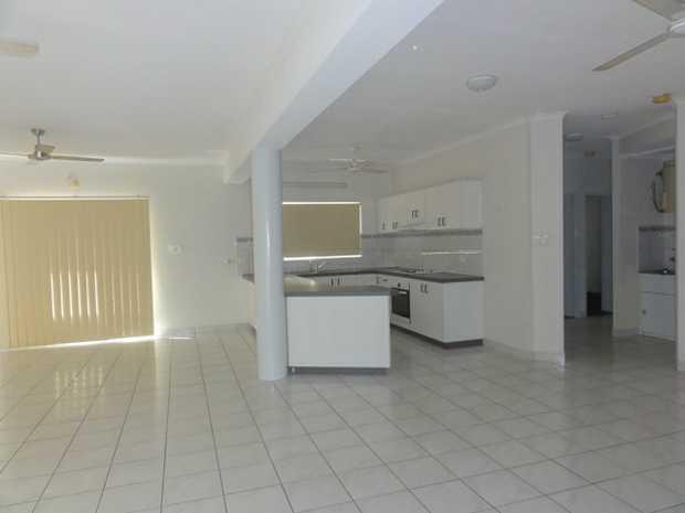 unfurnished 3 bedroom apartment  huge living area  undercover parking  split aircons...