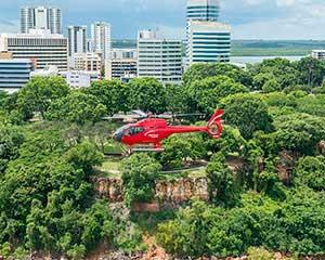 Fly over Darwin City and take in amazing scenic views from the air! Take off from Charles Darwin...