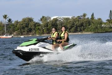 Jet ski along the beautiful shores of South Stradbroke Island, then enjoy the thrill of an indoor...