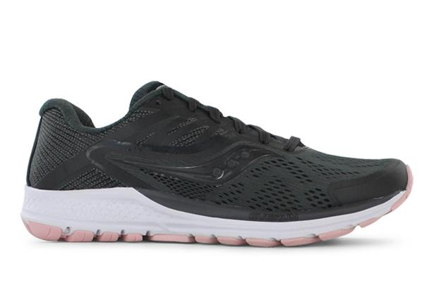 The Saucony Womens Ride 10 running shoes are fit for those who require a shoe with stability features...