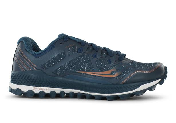 The Saucony Womens Peregrine 8 trail running shoes are fit for those who require a running shoe...
