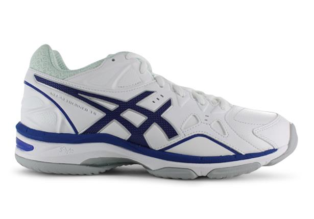 The Asics Womens Gel-Netburner 18 netball shoes are fit for those who require a shoe specifically for...