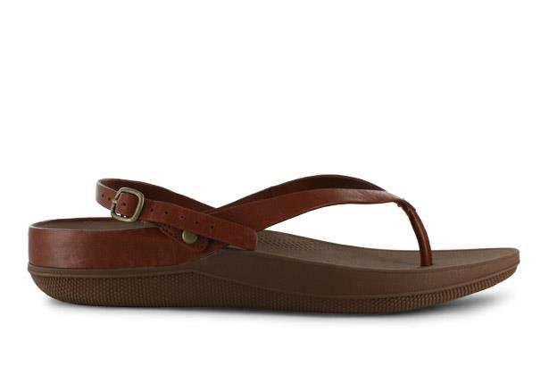 The Fit Flop Womens Flip is a casual sandal with a soft toe post to maximise comfort for everyday...